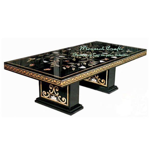 Marble Inlaid Beautiful Home Decors Dining Table
