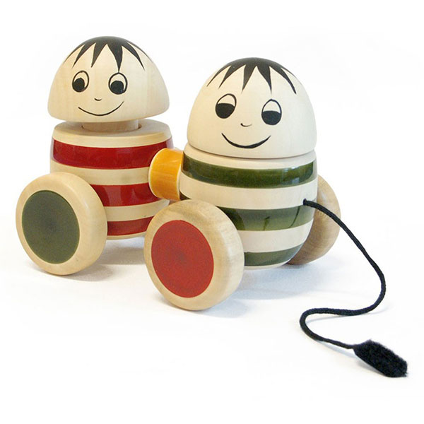 Bobblers Wooden Toy