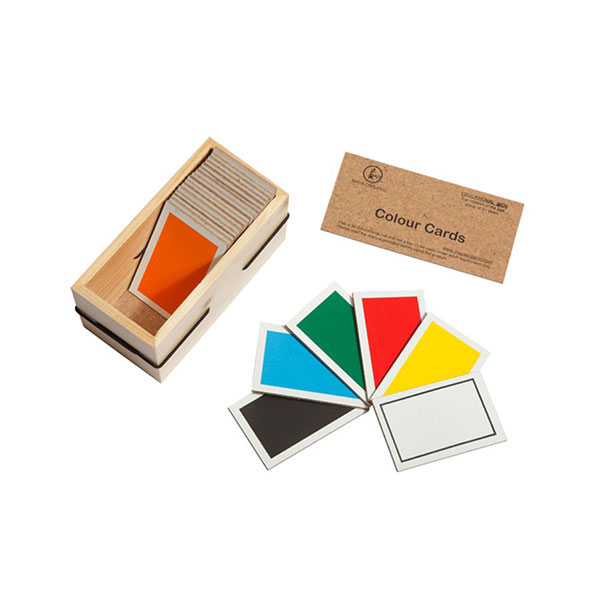 D P F Colour Cards